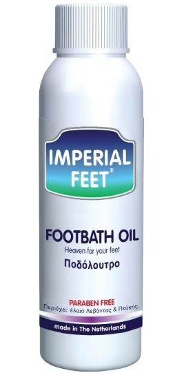 Imperial Feet Foot Bath Oil Ποδόλουτρο με Έλαιο Λεβάντας & Πεύκης 150ml