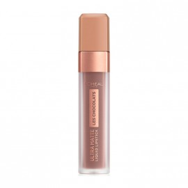 LOreal Paris Les Chocolates Ultra Matte Liquid Lipstick 858 Oh My Choc! 7.6ml