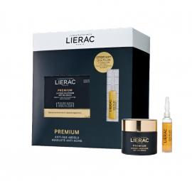 Lierac Set Premium Voluptueuse Cream Αντιγηραντική Κρέμα Προσώπου για Ξηρή Επιδερμίδα 50ml + Δώρο Cica-Filler Anti-Wrinkle Repairing Serum 10ml