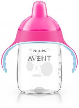 AVENT Κύπελλο με λαβές 340ml (ροζ) 18M+ SCF755/07