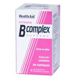 HEALTH AID B COMPLEX SUPREME CAPSULES 30s