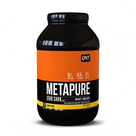 QNT Metapure Zero Carb Whey Isolate Protein Strawberry and Banana 1kg