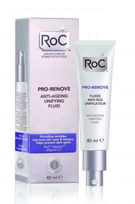 ROC PRO-RENOVE Κρέμα Αντιγήρανσης για Ομοιόμορφη όψη, Λεπτόρρευστη Υφή 40ml