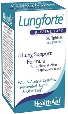 HEALTH AID Lungforte 30tabs