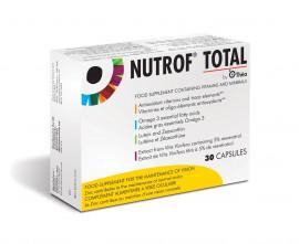 Nutrof Total Συμπλήρωμα Διατροφής για την Καλή Λειτουργία της Όρασης, 30 caps