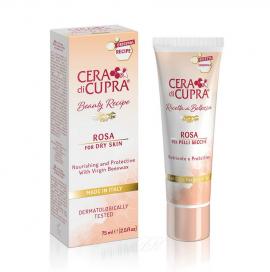 Cera di Curpa Rosa Αντιγυραντική Κρέμα Προσώπου για Ξηρές Επιδερμίδες 75ml