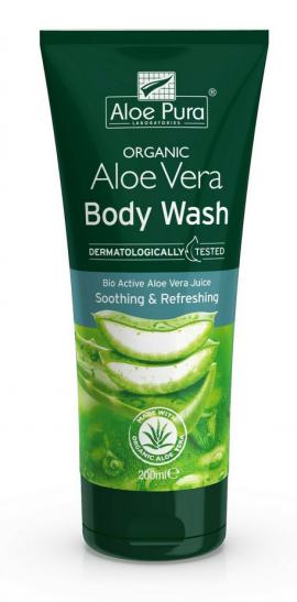 Optima Organic Aloe Vera Body Wash 200ml