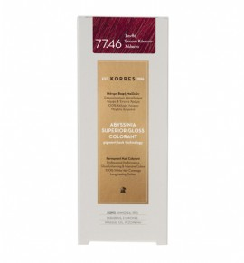 KORRES Abyssinia Superior Gloss Colorant 77.46 Ξανθό Έντονο Κόκκινο - Χάλκινο 50ml