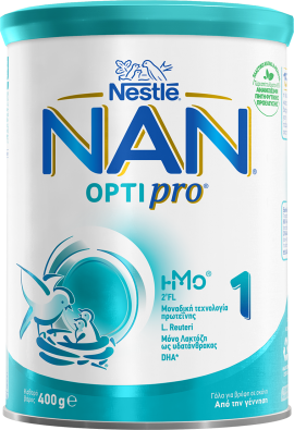 Nestle Nan Optipro 1 Γάλα για Βρέφη σε Σκόνη από τη Γέννηση 400gr