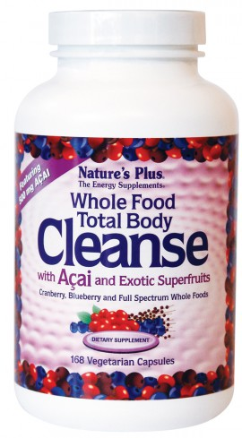NATURES PLUS Total Body Cleanse 168vcaps