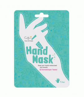 Vican Cettua Clean & Simple Hand Mask Ενυδατική Μάσκα Χεριών 1 ζευγάρι