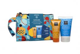 Apivita Set Suncare Anti-Spot Face Cream Κατά των Πανάδων SPF50 με Sea Fennel & 3D PRO-ALGAE® 50ml + Δώρο After Sun Cooling Cream-Gel με Σύκο & Αλόη 100ml