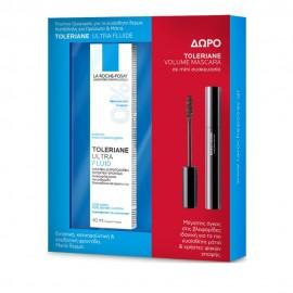 La Roche Posay Set Toleriane Ultra Fluid 40ml & ΔΩΡΟ Toleriane Mini Volume Mascara 4.5ml