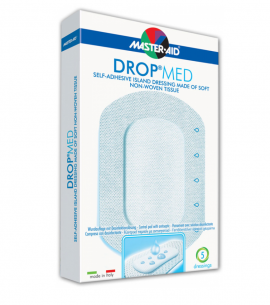 Master Aid Drop Med - 12,5x12,5cm (7,5x7,5) 5τεμ.