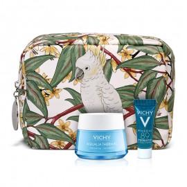 Vichy Set Aqualia Thermal Cream για Μικτές Επιδερμίδες 50ml + Δώρο Mineral 89 Probiotic 5ml + Πρακτικο Νεσεσέρ by Marina Raphael 1τμχ