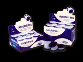 ASEPTA Aseptatrans Ταινίες πολυαιθυλενίου διαφανείς αυτοκόλλητες 2,5cmX5m 1τμχ.