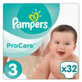 Pampers Procare Premium Protection No.3 (5-9kg) 32 Πάνες