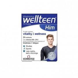 Vitabiotics Wellteen Him Πολυβιταμίνη για Εφήβους & Νέους Άντρες 30tabs