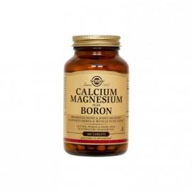 Solgar Calcium Magnesium Plus Boron Συμπλήρωμα διατροφής 100 Tablets