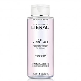 Lierac Demaquillant Eau Micellaire Anti-Aging Cleansing Micellar Water for All Skin Types 400ml