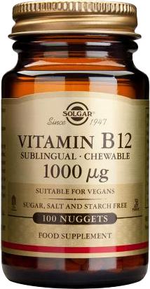 Solgar VIT. B-12 1000ug nuggets 100s