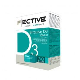 Fective Essential Nutrients Vitamin D3 2000IU 30 LipidCaps