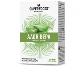 SUPERFOODS Aloe Vera 30caps