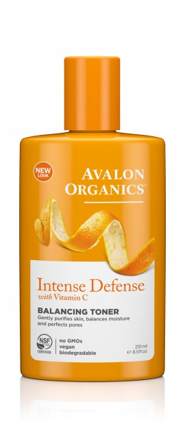 Avalon Organics Balancing Tonerl Intense Defence with Vitamin C 251ml