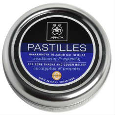 APIVITA PASTILLES Παστίλιες με ευκάλυπτο & πρόπολη