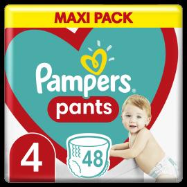 Pampers Pants No.4 (9-15 Kg) 48 Πάνες Βρακάκι
