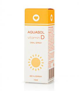 Aquasol Vitamin D 400IU Oral Spray 15ml