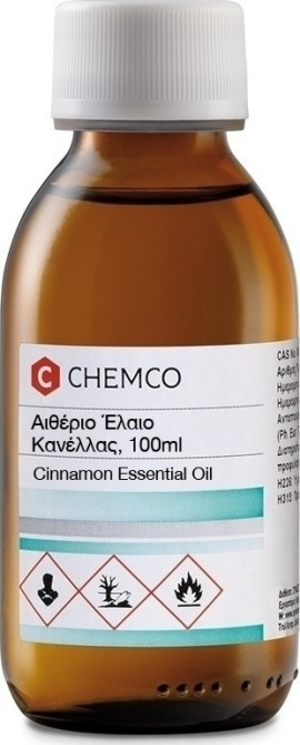 Chemco Αιθέριο Έλαιο Κανέλα 100ml