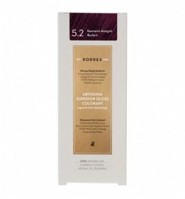 KORRES Abyssinia Superior Gloss Colorant 5.2 Καστανό Ανοιχτό Βιολετί 50ml