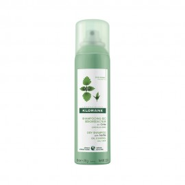 Klorane Shampooing Sec a L Ortie Dry Shampoo with Nettle Oily Control Ξηρό Σαμπουάν με Τσουκνίδα για Λιπαρά Μαλλιά 150ml