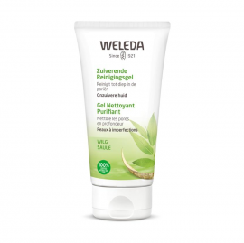Weleda Naturally Clear Purifying Gel Cleanser Τζελ για Βαθύ Καθαρισμό 100ml