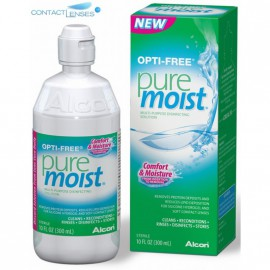 Opti Free Pure Moist 300ml Διάλυμα Φακών Επαφής