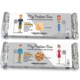 Power Health Healthy & Tasty My Protein Bar με Γεύση Pizza 40gr