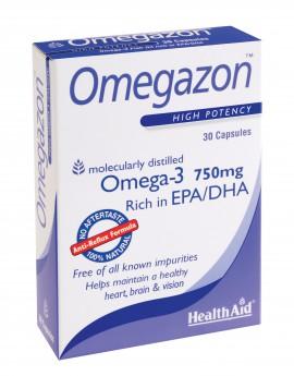 HEALTH AID OMEGAZON 750MG 30CAPS -BLISTER