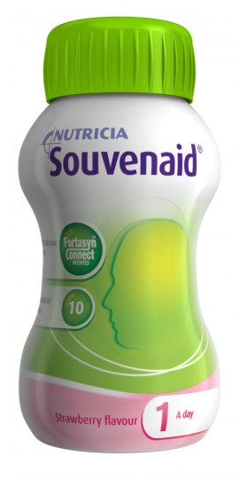 NUTRICIA SOUVENAID Strawberry 4x125ml