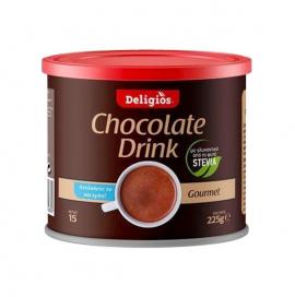 Deligios Chocolate Drink & Stevia 225g