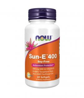 Now Foods E 400 SUN - 60 Softgels