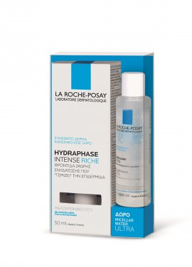 La Roche Posay Promo Hydraphase Intense Riche 50ml & Δώρο Micellaire Water Ultra 50ml