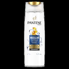 Pantene Pro-V Micellar Καθαρισμός & Περιποίηση Σαμπουάν 400ml, Αναζωογονεί Τα Μαλλιά