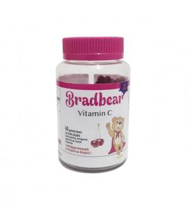 Bradex Bradbear Vitamin C με γεύση Κεράσι 60 Gummy Bears