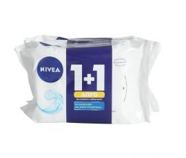 Nivea Αναζωογονητικά Μαντηλάκια Καθαρισμού 25τεμ 1+1 Δώρο
