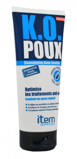 Inpa Item K.O. Poux Shampoo Σαμπουάν για την Καθημερινή Αντιφθειρική προστασία & Υγιεινή Όλης της Οικογένειας σε Περιόδους Έξαρσης των Ψειρών, 200 ml