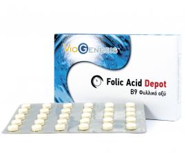 Viogenesis FOLIC ACID 600μg DEPOT 90tabs