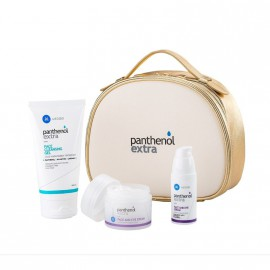 Medisei Panthenol Extra Gift for Her Premium Antiageing Set Face Cleansing Gel 150ml + Face and Eye Serum 30ml + Face and Eye Cream 50ml