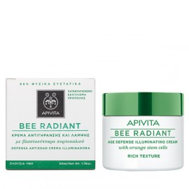 Apivita Bee Radiant Πλούσια Υφή 50ml