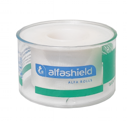 Alfashield Μεταξωτή Ταινία Στερέωσης 1,25cm x 5m 1τμχ